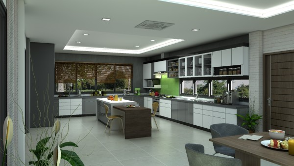 Solid Kitchen